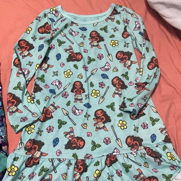 Girls Disney Moana Nightgown